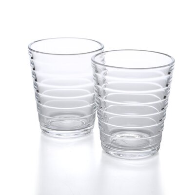 iittala Aino Aalto 7.75 Oz. Tumblers Clear (Set of 2)