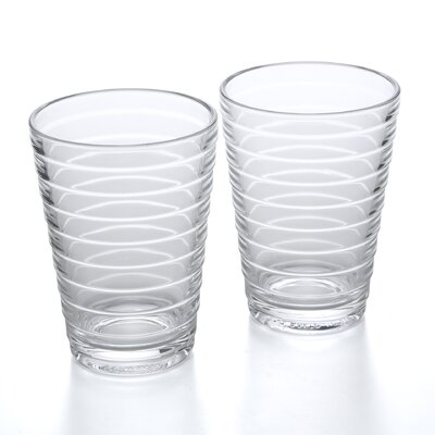 iittala Aino Aalto 11.75 Oz. Tumblers Clear (Set of 2)