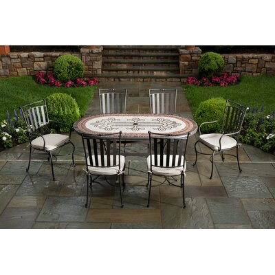 Alfresco Home Orvieto 7 Piece Dining Set