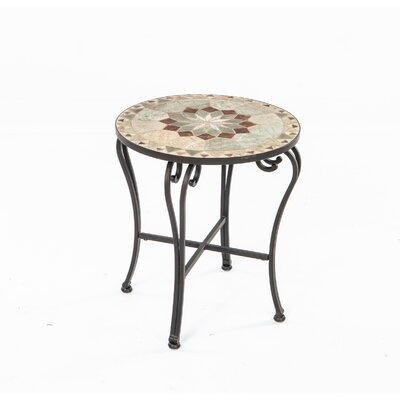Alfresco Home Notre Dame Mosaic Side Table