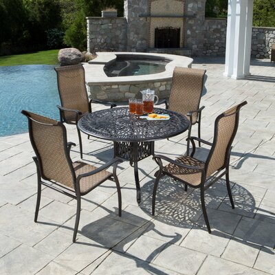 Alfresco Home Charter 5 Piece Dining Set