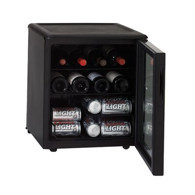 17 Bottle and 42 Can Wine and Beverage Cooler