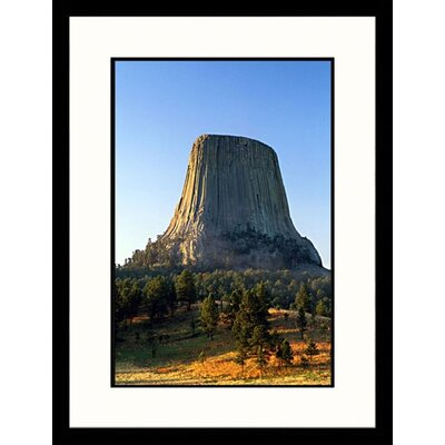 Great American Picture Devils Tower National Monument, Wyoming Framed Photograph - Stephen Saks
