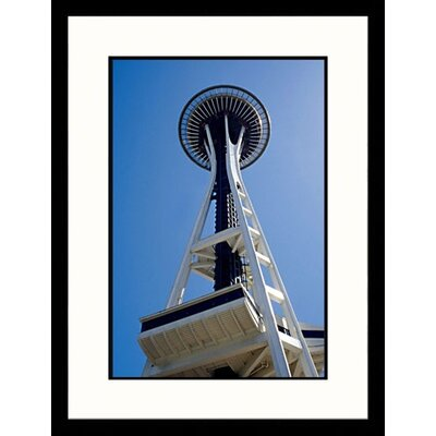 Great American Picture The Space Needle, Seattle, Washington Framed Photograph