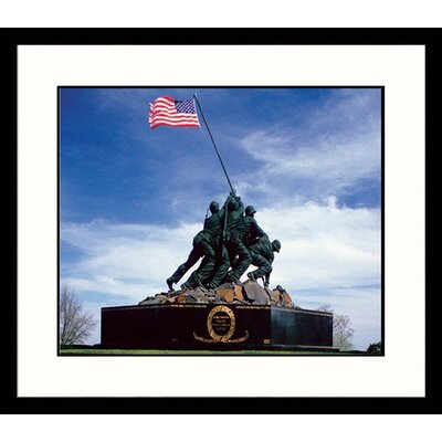 Great American Picture Iwo Jima Framed Photograph
