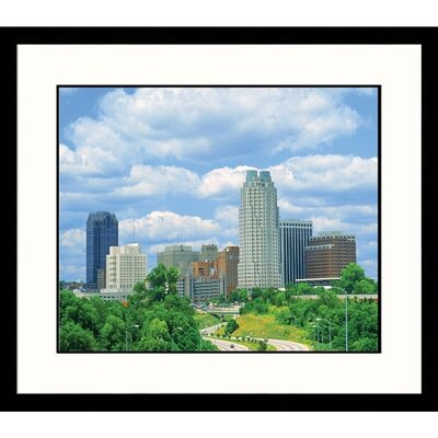 Great American Picture Urban Landscape of North Carolina Framed Photograph - Chip Henderson