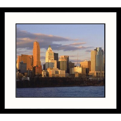 Great American Picture Cincinnati Skyline Framed Photograph - Steven Begleiter