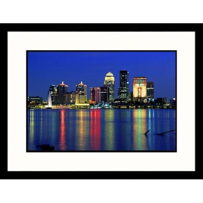 Great American Picture Skyline of Louisville, Kentucky Framed Photograph -  David Davis