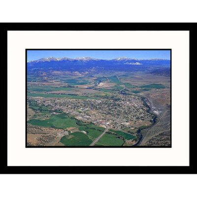 Arkansas River Valley in Salida, Colorado Framed Photograph - Paul Gallaher
