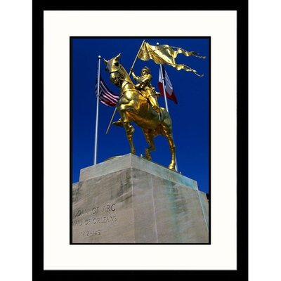Great American Picture Joan of Arc French Quarter in Lousiana Framed Photograph - John Coletti