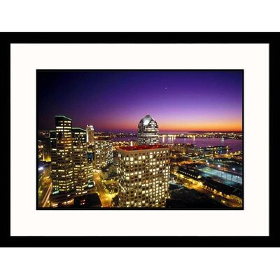 Great American Picture Downtown San Diego Framed Photograph - David Harrison