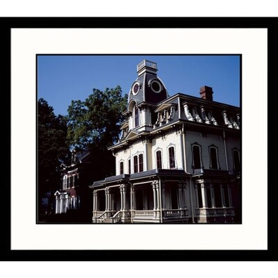 Cityscapes Raleigh Victorian Framed Photographic Print