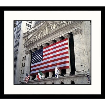Great American Picture Cityscapes Wall Street Framed Photographic Print