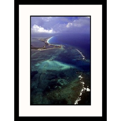 Great American Picture Cancun and The Caribbean Sea Framed Photograph - Bruce Clarke