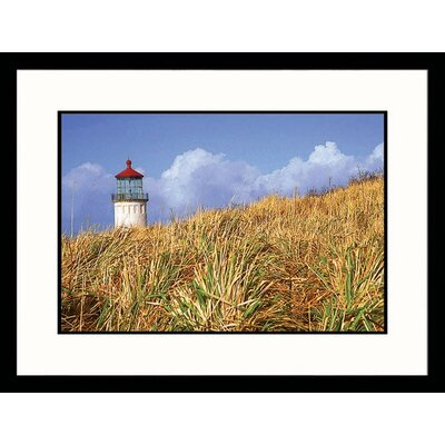 Great American Picture Long Beach Light Framed Photograph - Mike Hipple