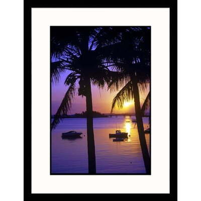 Great American Picture View Across Sea Framed Photograph