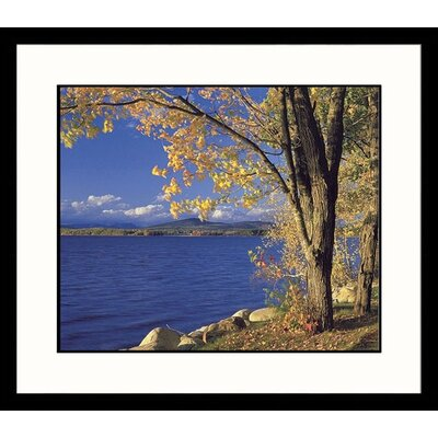 Great American Picture Lake Ossipee Framed Photograph