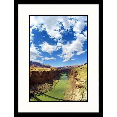 Colorado River from Navajo Bridge, Arizona Framed Photograph - James Denk