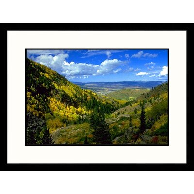 Yampa River Valley, Colorado Framed Photography - Joseph B Rife