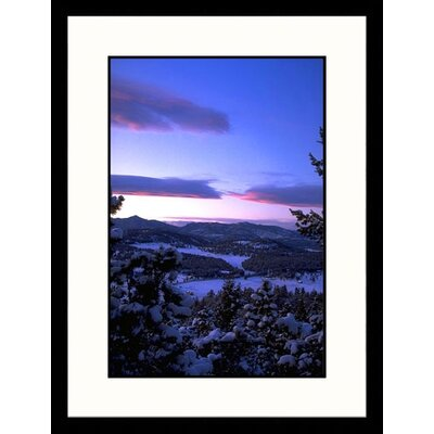 Colorado Winter Framed Photograph - Bruce Clarke