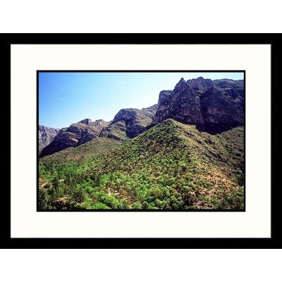 Great American Picture McKittrick Canyon, Guadalupe Mountains National Park, Texas Framed Photograph - Jack Jr Hoehn