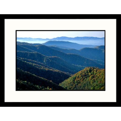 Great American Picture Deep Creek Great Smokey Mountains National Park, Tennessee Framed Photograph - Jack Jr Hoehn
