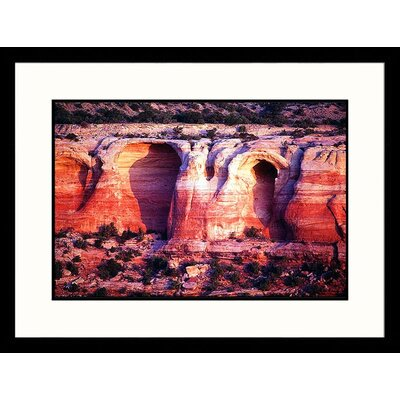 Great American Picture Rattlesnake Canyon - Colorado New Mexico / Colorado Framed Photograph - Dennis Curran