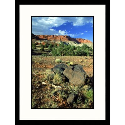 Great American Picture Capitol Reef National Park, Utah Framed Photograph - David Carriere