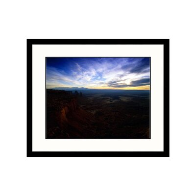 Great American Picture White Rim View, Moab, Utah Framed Photograph - Walter Bibikow