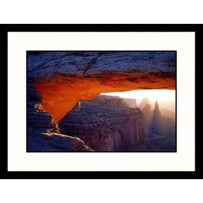 Great American Picture Mesa Arch, Island in the Sky Canyonlands, Utah Framed Photograph - Jules Cowan