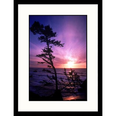 Great American Picture Crescent City, California , Dusk Framed Photograph - Mark Gibson