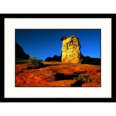 Great American Picture Sunset Light Zion National Park, Utah Framed Photograph - Russell Burden