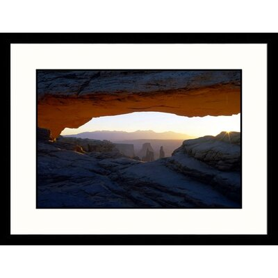 Great American Picture Sneak a Peak Utah National Park Framed Photograph