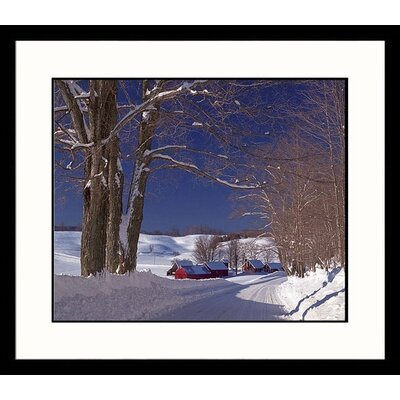 Jennie Farm Winter Framed Photograph