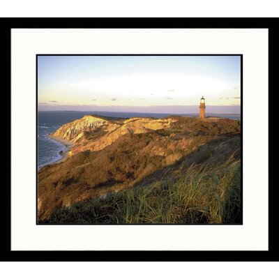 Gayhead, Massachusetts Lighthouse Framed Photograph