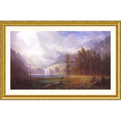 Great American Picture Mt. Whitney Gold Framed Print - Albert Bierstadt