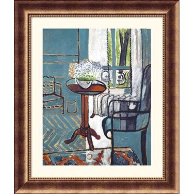 Great American Picture The Window Bronze Framed Print - Henri Matisse