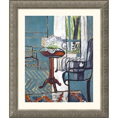 Great American Picture The Window Silver Framed Print - Henri Matisse