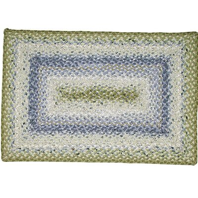 Homespice Decor Cotton Braided Seascape Rectangular Rug