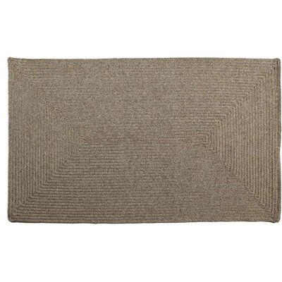 Homespice Decor Ultra-Durable Slate Solid Indoor/Outdoor Rug