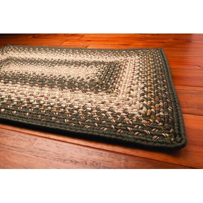 Homespice Decor Ultra-Durable Green Mist Rug