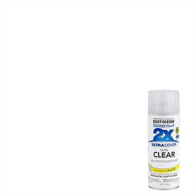 PaintersTouch Painter's Touch® 2X™ 12 Oz Clear Cover Spray Paint Satin