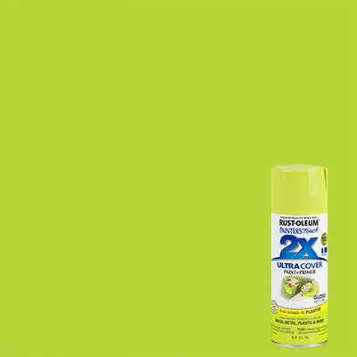 PaintersTouch Painter's Touch® 2X™ 12 Oz Key Lime Cover Spray Paint Gloss