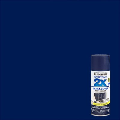 Painter's Touch® 2X™ 12 Oz Midnight Blue Cover Spray Paint Satin