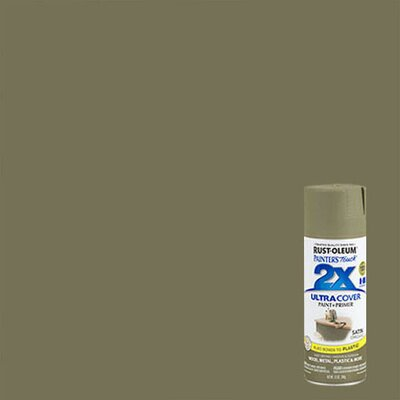 Painter's Touch® 2X™ 12 Oz Oregano Cover Spray Paint Satin