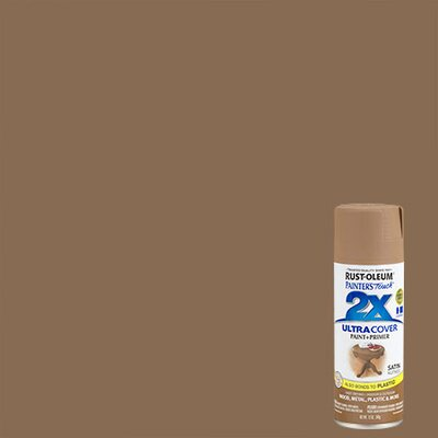 Painter's Touch® 2X™ 12 Oz Nutmeg Cover Spray Paint Satin