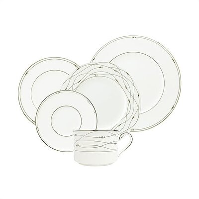 Royal Doulton Precious Platinum 5 Piece Place Setting