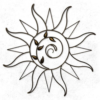 Plastec Sun Sprout Wall Decor