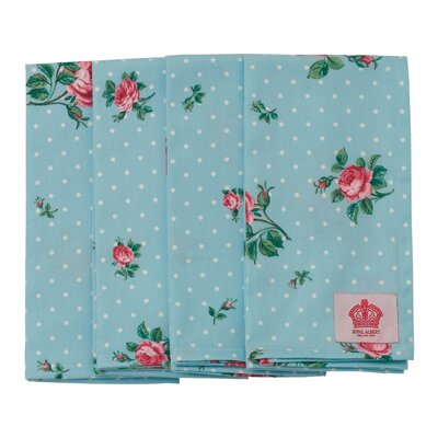 Polka Blue Napkin (Set of 4)