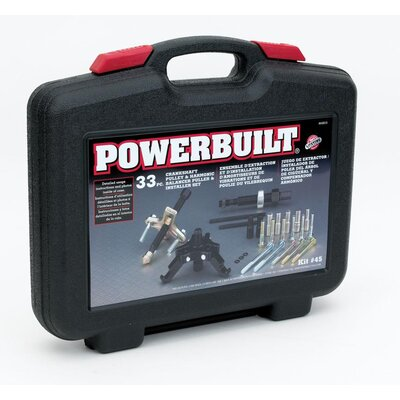 Powerbuilt Harmonic Balancer and Pulley Remover / Installer Kit